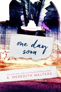 One Day Soon by A. Meredith Walters….Release Blitz