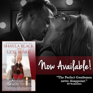 Big Easy Temptation by Shayla Black and Lexi Blake…Release Day Event