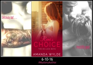 MYSTERY AUTHOR REVEALED & GIVEAWAY