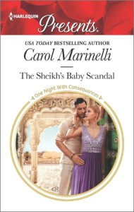 September Harlequin Spotlight with Carol Marinelli, author of The Sheikh's Baby Scandal