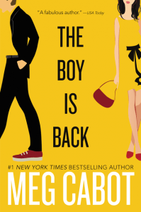 The Boy Is Back by Meg Cabot…Blog Tour Stop & Review