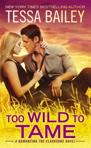 Too Wild to Tame by Tessa Bailey….Launch Day Event