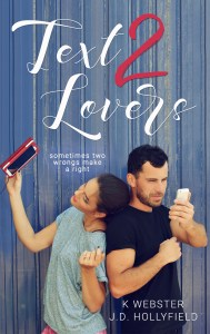 Text 2 Lovers by K. Webster & J.D. Hollyfield…Review Tour