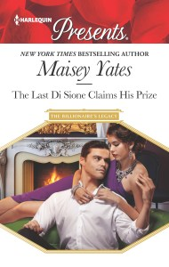 Harlequin February Spotlight….Q&A with Author Maisey Yates, author of The Last Di Dione Claims His Prize