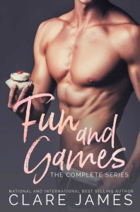 Fun and Games Series Box Set by Clare James…Release Blitz