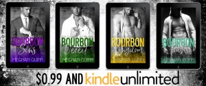 Re-Release…The Bourbon Series by Meghan Quinn