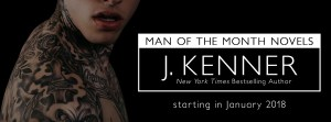 Cover Reveal…Man of the Month by J. Kenner