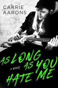 Release Day Blitz…As Long As You Hate Me by Carrie Aarons