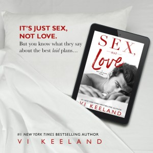 Sex, Not Love by Vi Keeland…Review Tour Stop