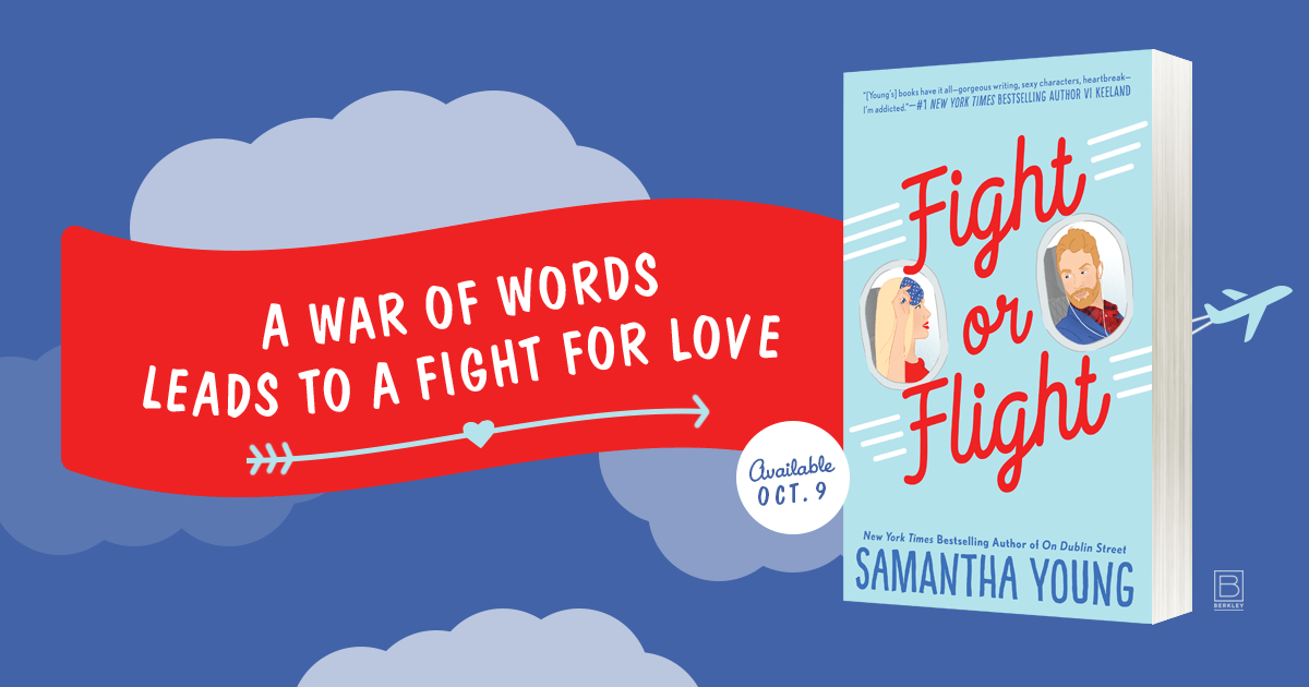 Fight or Flight by Samantha Young…Release Day Blitz & Review