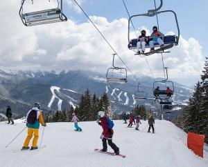 slidinėjimo pramogos