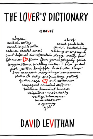 The Lover's Dictionary – David Levithan