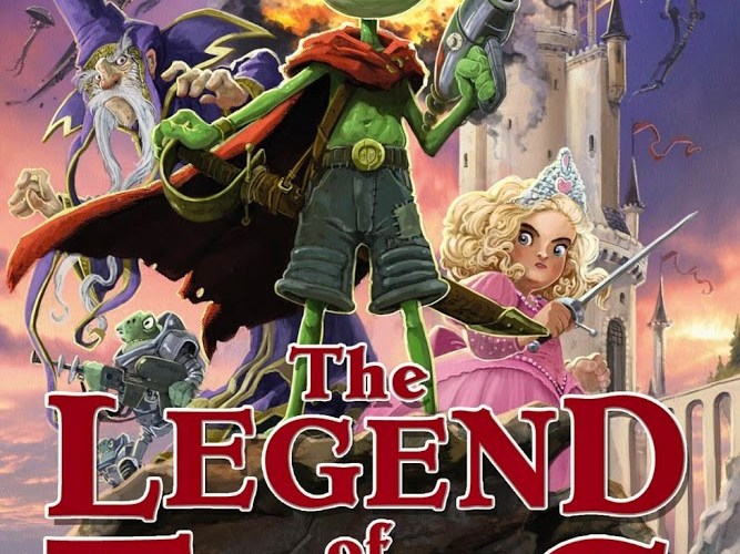 The Legend of Frog Blog Tour: The Ideas Behind The Legend of Frog by Guy Bass