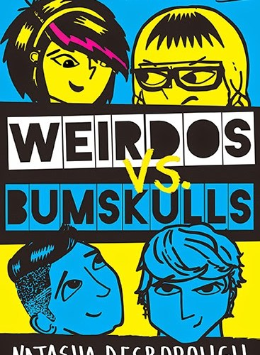 Cover Reveal: Weirdos vs Bumskulls by Natasha Desborough
