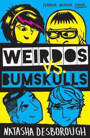 Weirdos vs Bumskulls guest post: Character Playlists by Author Natasha Desborough