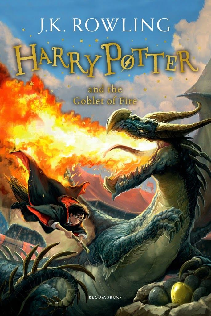 Harry Potter new cover editions blog tour: Goblet of Fire