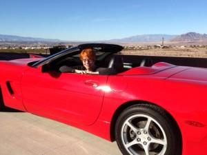 Jayne Ann Krentz, JAK, Corvette picture