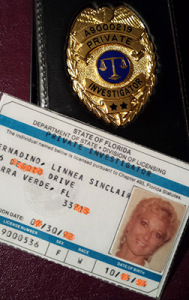 Linnea PI Badge