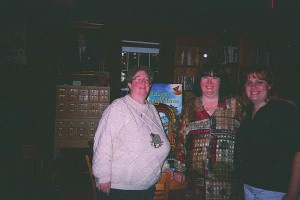 Readers Mo and Trish with Terri-1998