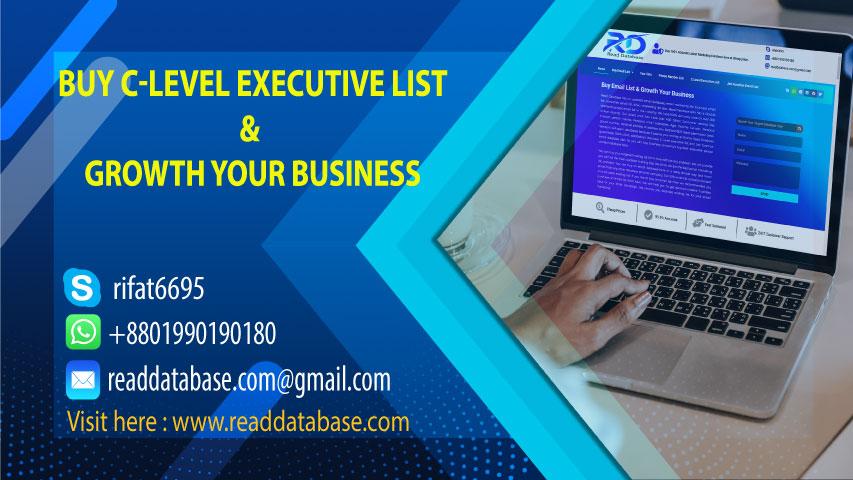 C Level Executive List