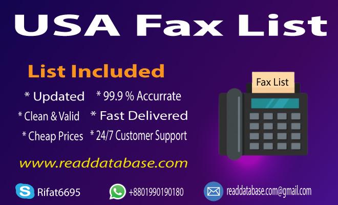 USA Fax List