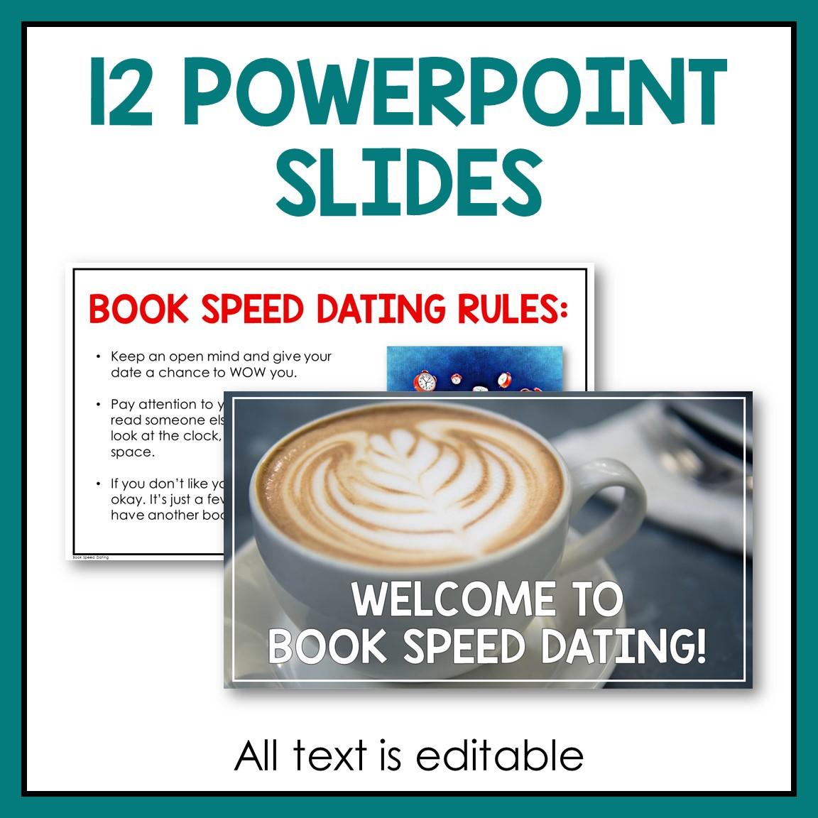 speed dating bibliotecă