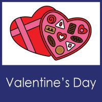 Valentine's Day--MS English