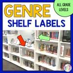 Genre Shelf Labels for School Libraries