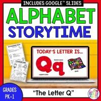 Alphabet Storytime for Letter Q
