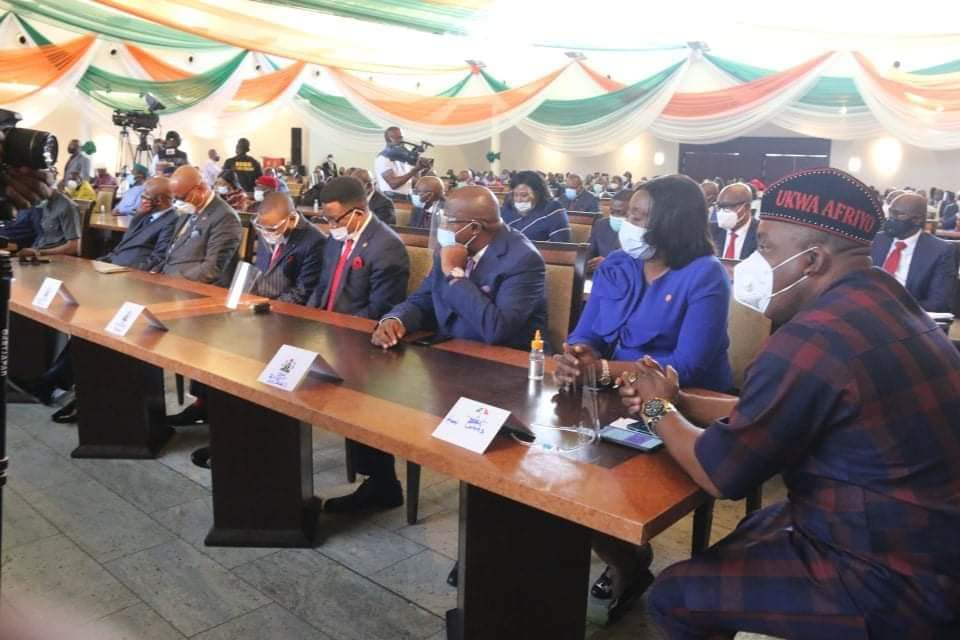 A Cross Section of Akwa Ibom State Commissioners and SAs.