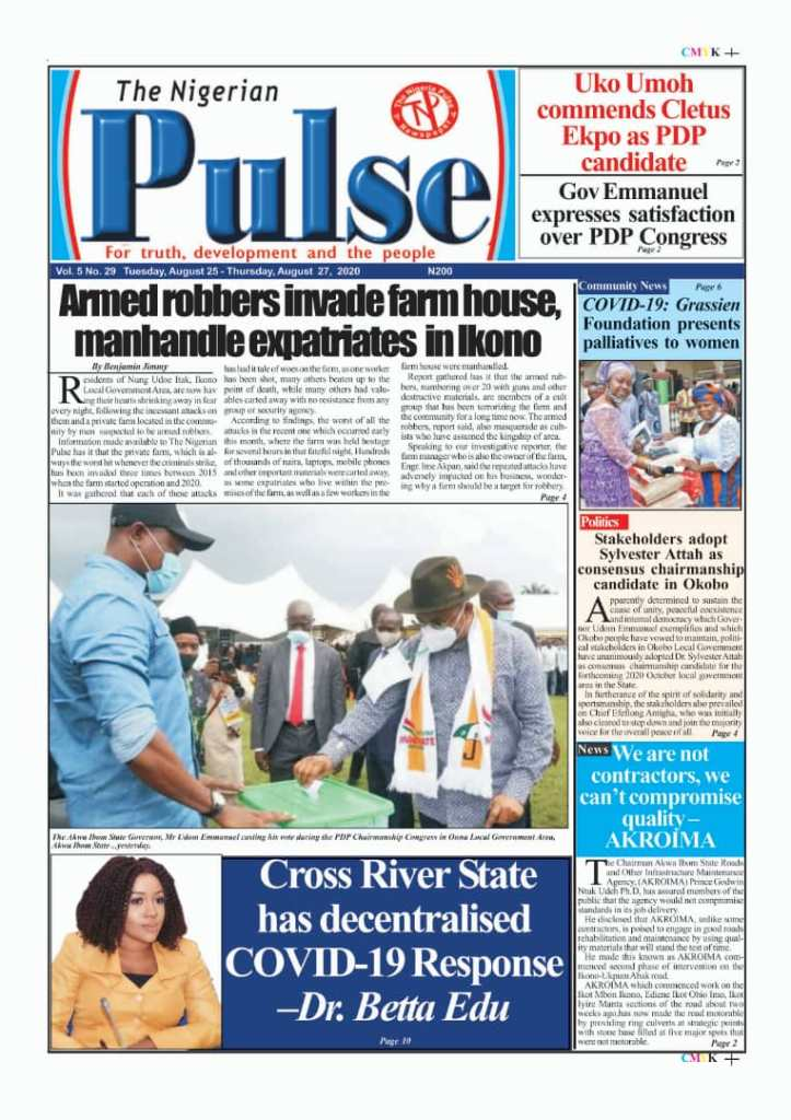 IMG 20200825 WA0020 1 Top Akwa Ibom Newspaper Headlines For Today Tuesday August 25, 2020