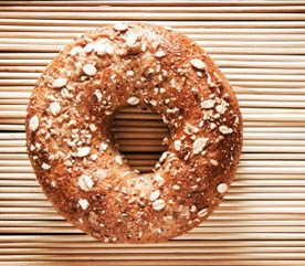 14. Try Getting a Whole Wheat Bagel Instead of a Pastry