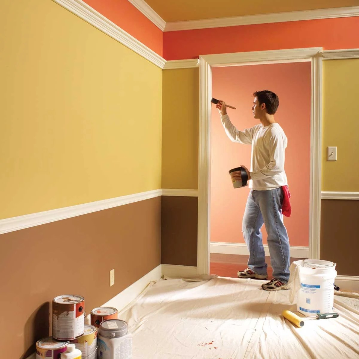 10 Interior Painting Tips For Flawless Walls | Reader's ... on House Painting Ideas  id=21327