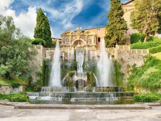 villa d'este fountain