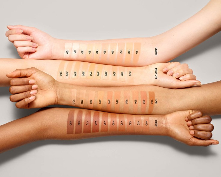 כל גוני העור השונים