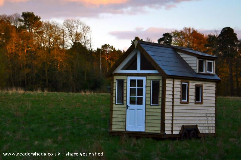 The Derry Tiny House Unique From Garden Owned By Mark Burton Shedoftheyear Tinyhouseuk