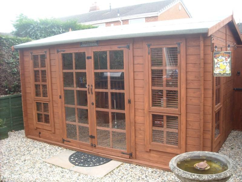 The Drunken Duck CabinSummerhouse From Garden Owned By