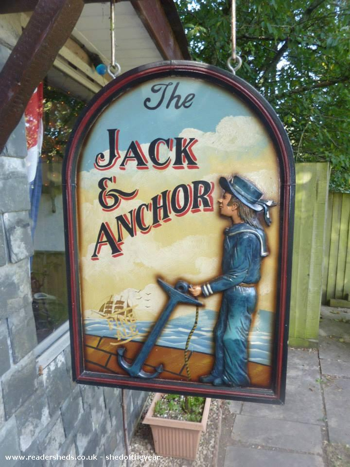 The Jack & Anchor - Greg Fergus-Hunt - Garden