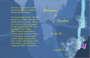 Mountain of shadow by Earlie M