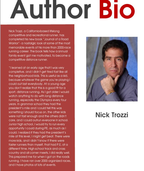 Author Bio Nick Trozzi