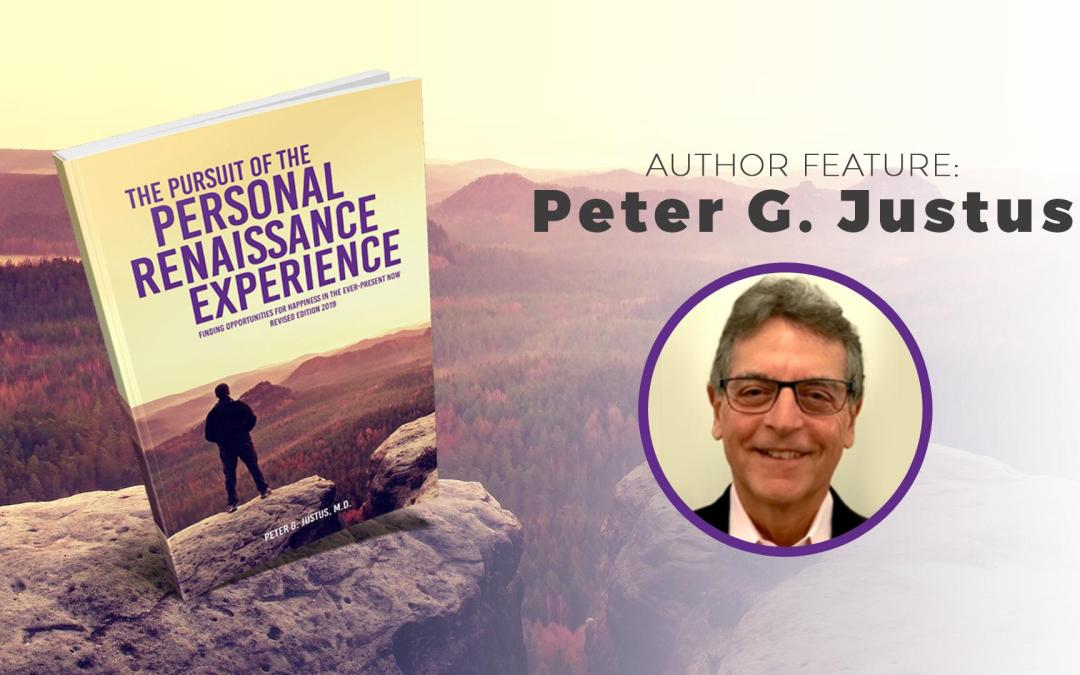 Author Feature: Peter Justus banner