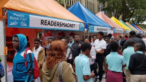 ReadersMagnet attending the 35th Miami Book Fair International, 2018.