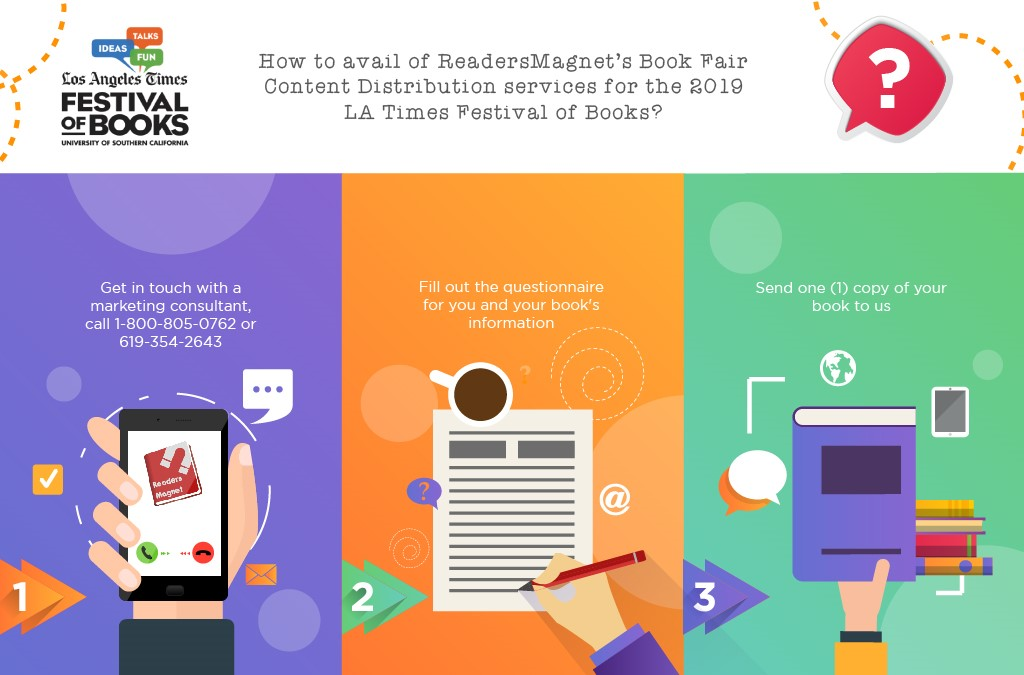 ReadersMagnet Official Guide: 2019 LA Times Festival of Books