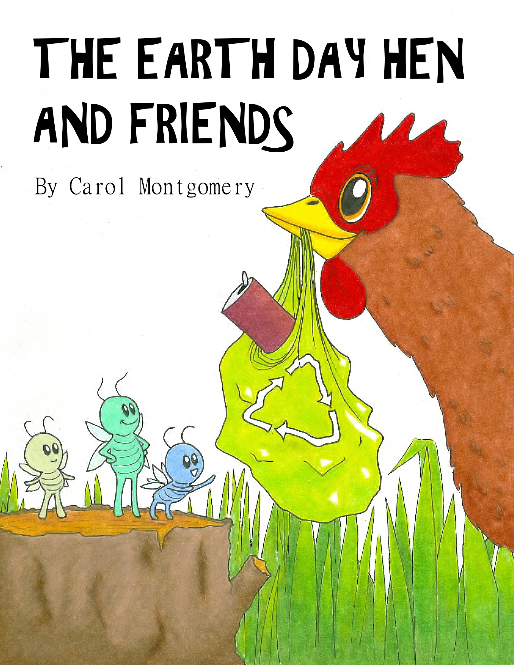 The Earth Day Hen And Friends 2 Versions Easy And Expanded R K Or 1 3