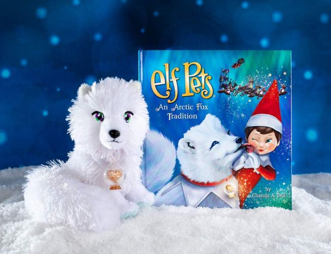"""Elf Pets: An Arctic Fox Tradition"" by Chanda Bell"