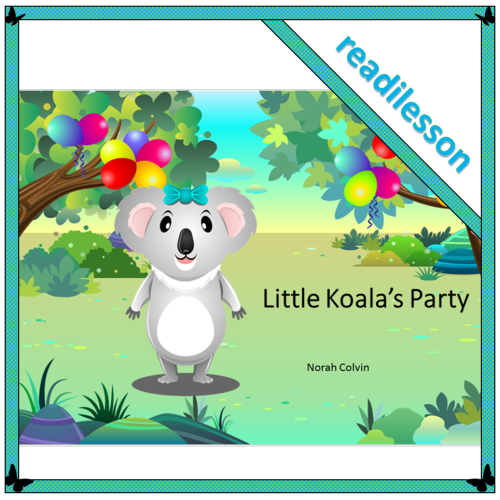 Little Koala's Party – a story for problem solving