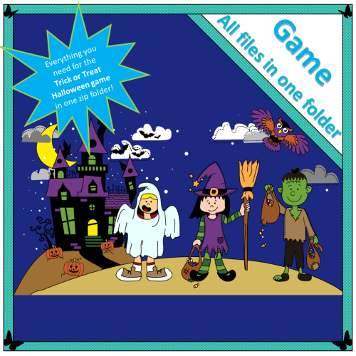 Trick or Treat Halloween game
