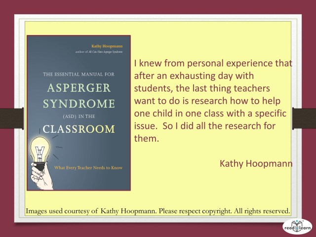Aspergers Syndrome in the Classroom by Kathy Hoopman