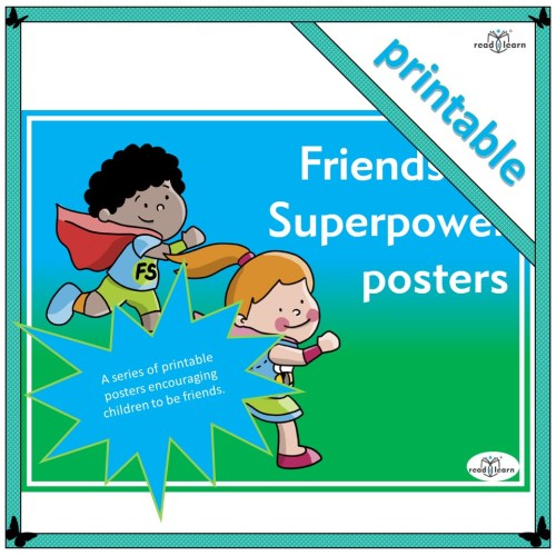Friendship superpower posters
