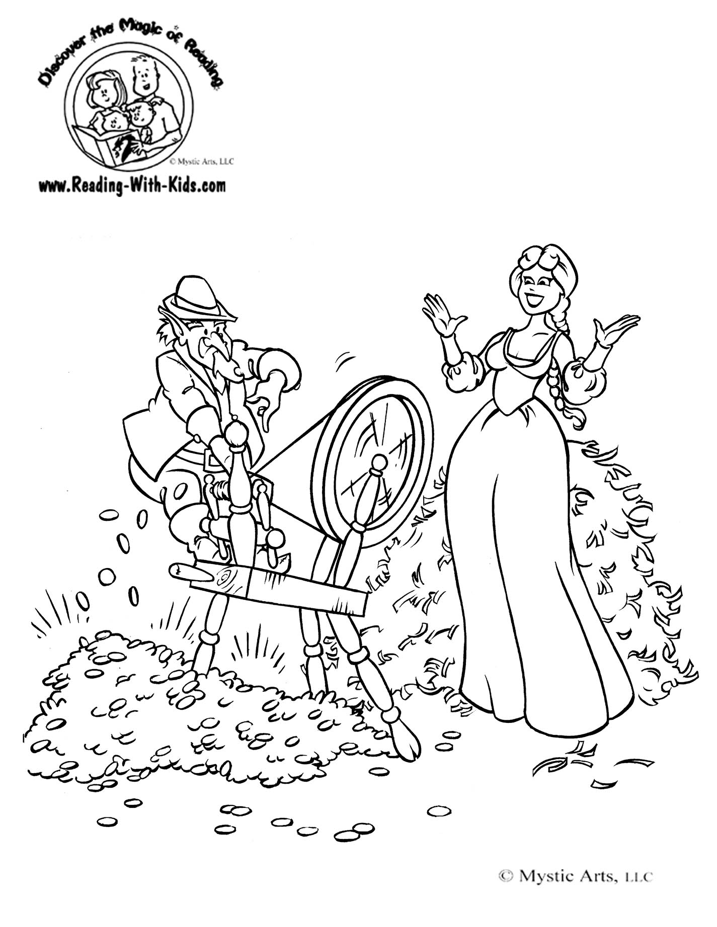Fairy Tale Coloring Pages Free Coloring Pages